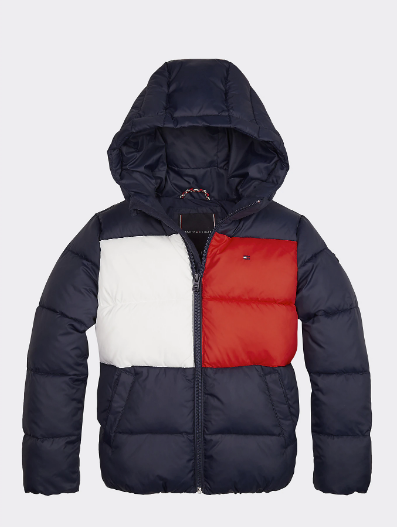 AW19 Tommy Hilfiger Boys Flag Coat