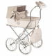BebeLux Spanish Beige Patent Changing Bag For Dolls 'Prams'