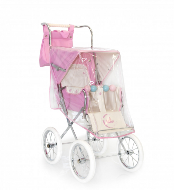 BebeLux Pink Pushchair Raincover
