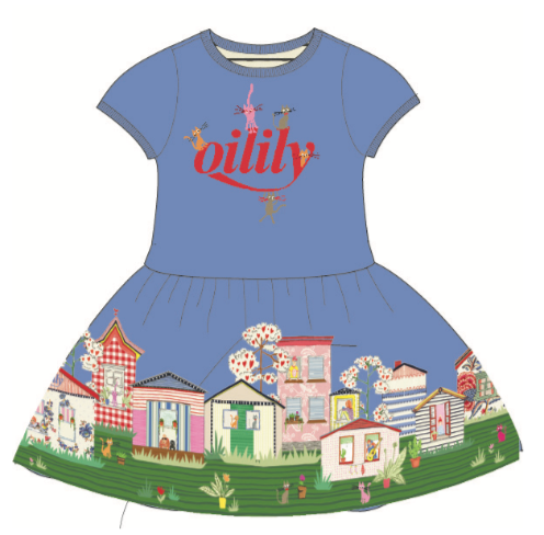 PRE-ORDER SS20 Oilily Girls Thedoor Jersey Dress 53