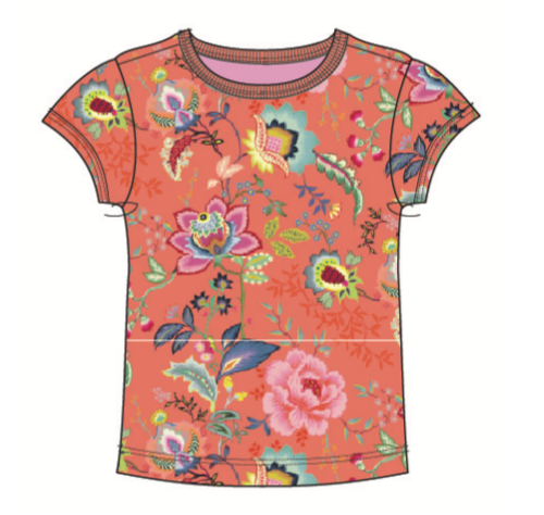 SS20 Oilily Girls Tof Flower Bomb T-Shirt 18