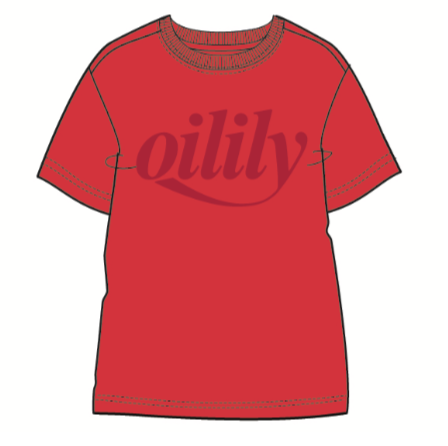 SS20 Oilily Tak Red Branded T-Shirt 20