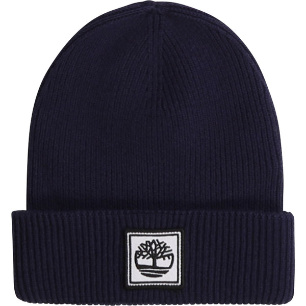 AW20 Timberland Boys Navy Blue Knitted Hat