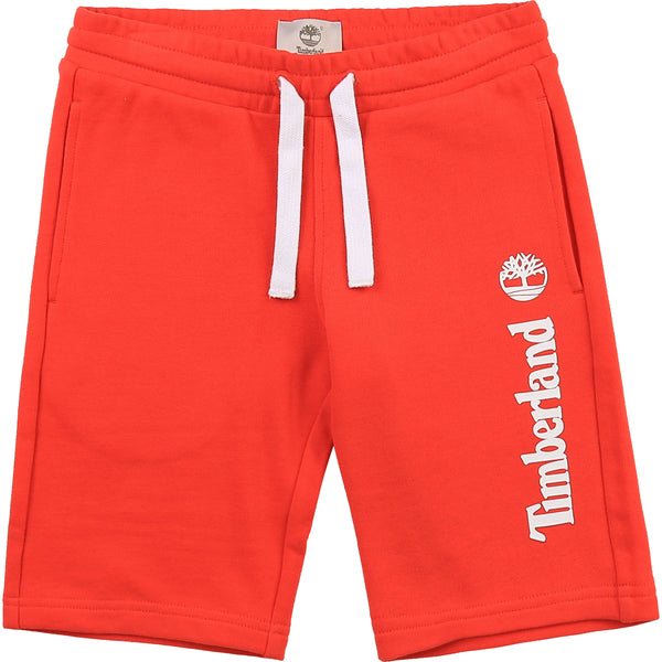 PRE-ORDER SS21 Timberland Boys Orange Jersey Shorts