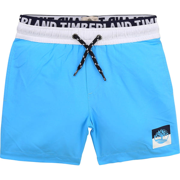 PRE-ORDER SS21 Timberland Boys Blue Swim Shorts