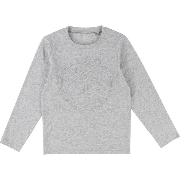 AW18 Timberland Boys Grey Top