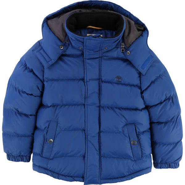 AW18 Timberland Boys Blue Puffer Coat 4-14 Years