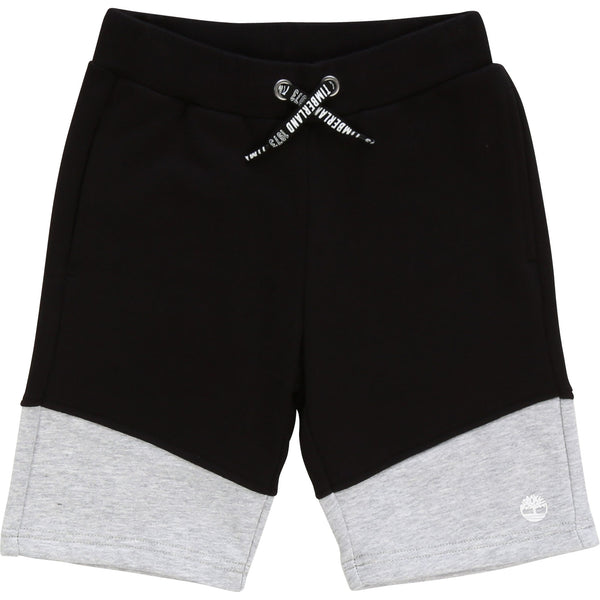 SS20 Timberland Boys Black & Grey Jersey Shorts