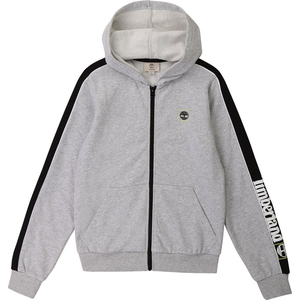 PRE-ORDER SS21 Timberland Boys Grey Zip Up Top