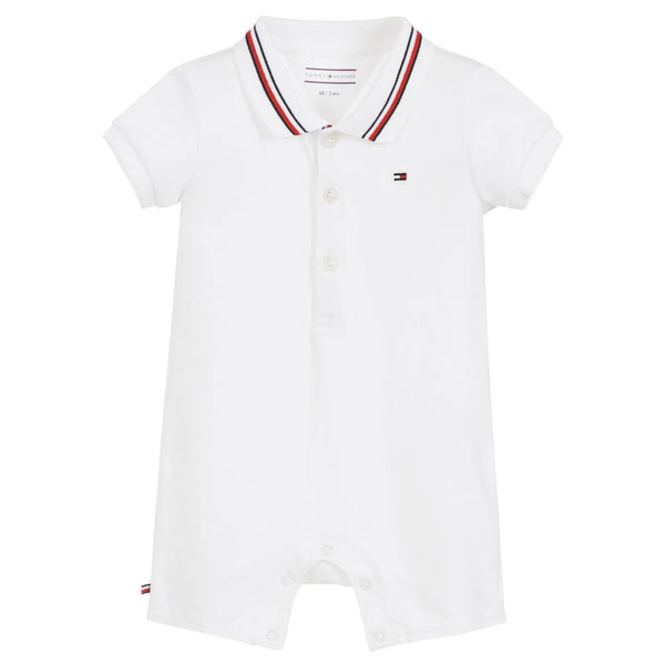 SS18 Tommy Hilfiger Baby Polo Romper -