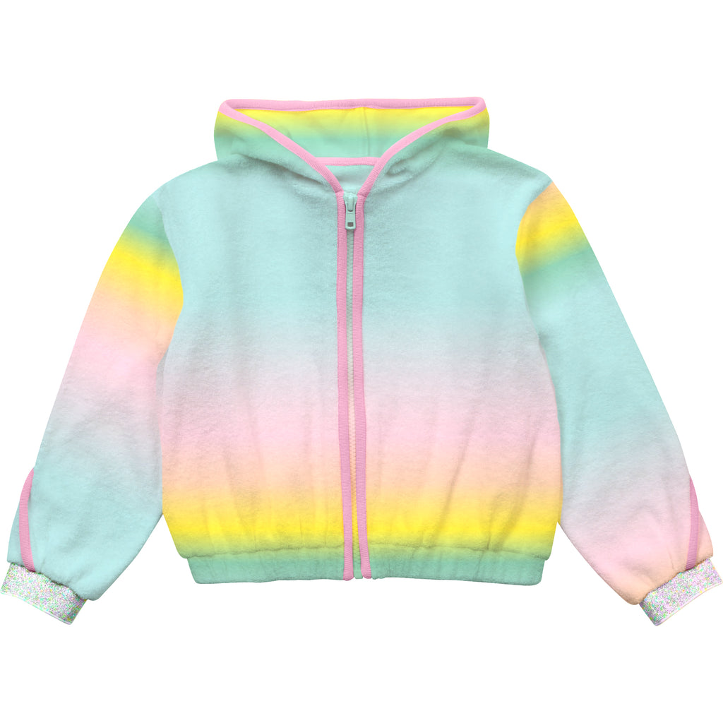 PRE-ORDER SS21 Billieblush Girls Rainbow Ombre Hoodie