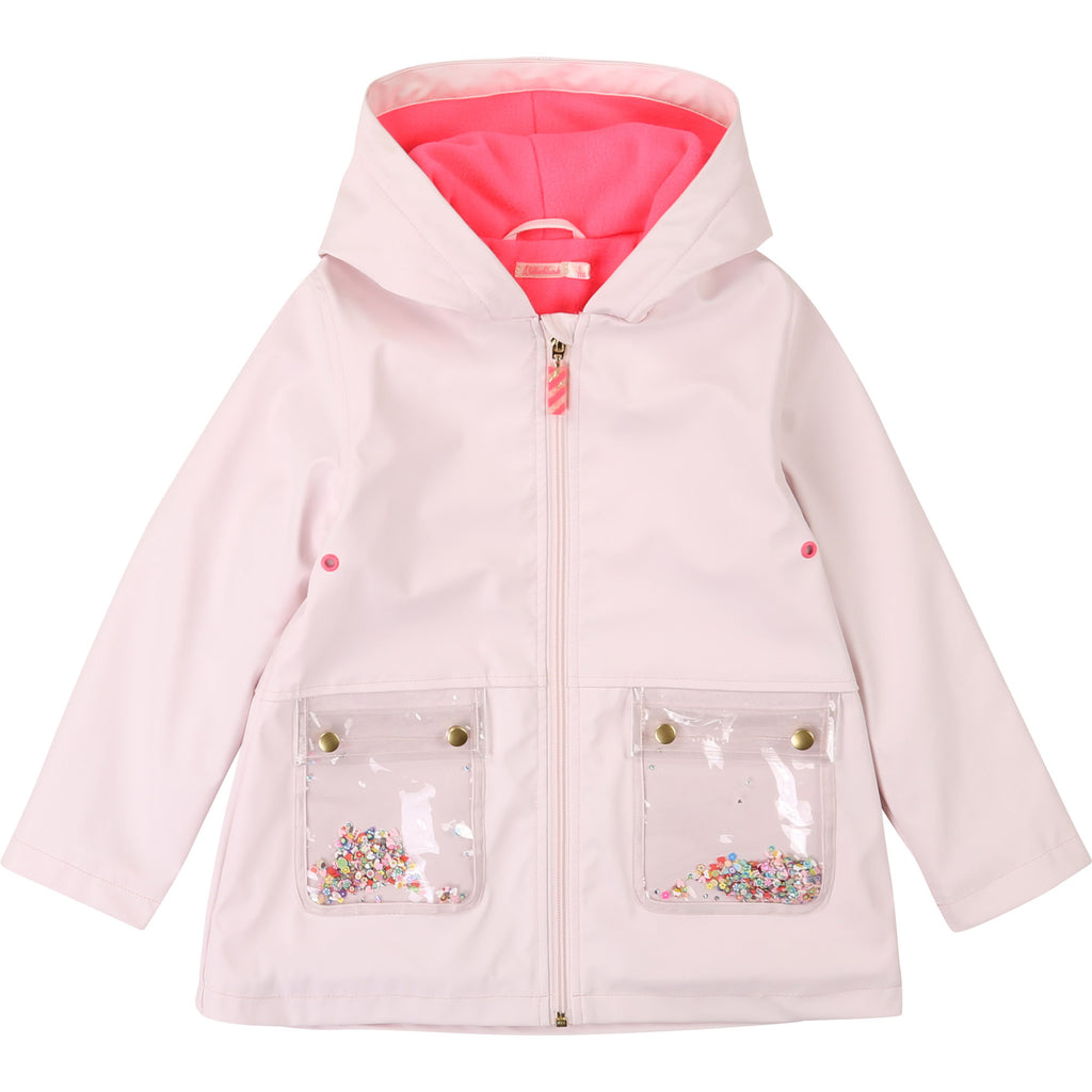 AW20 Billieblush Girls Pink Raincoat