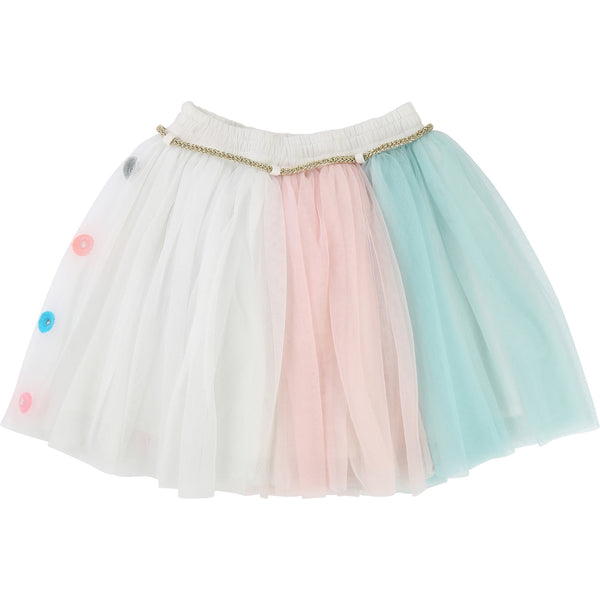 AW17 Billieblush Girls Alice In Wonderland Tulle Skirt - Liquorice Kids