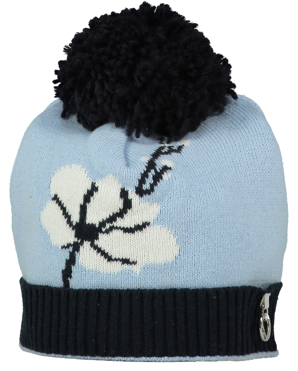 AW18 A*Dee Girls Alice Knitted Bluebird Print Hat