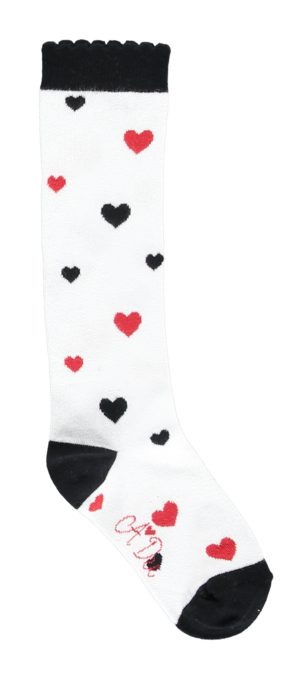 AW18 A*Dee Girls Alex Love Song Heart Socks