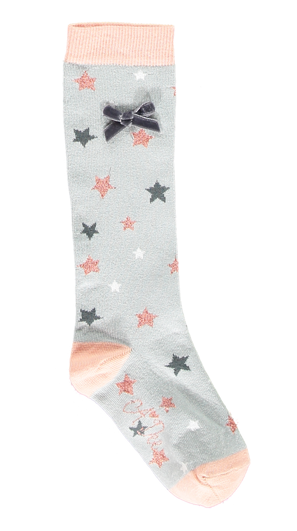 Pre-Order AW18 A*Dee Girls Alex Once Upon A Time Grey Socks