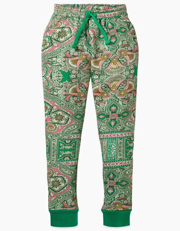 AW19 Oilily Girls Hoost Sweat Pants 72 Orient Green