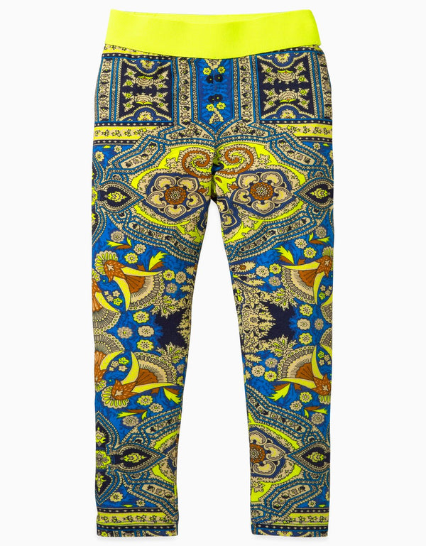 AW19 Oilily Girls Toga Leggings 56 Orient