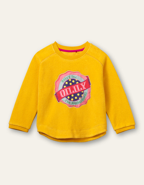 AW20 Oilily Girls Home Yellow Sweater 47