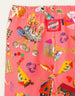 AW20 Oilily Girls Topic Collage Craft Pink Leggings 30