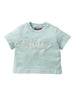 SS17 Oilily Girls Helter Sweat T-Shirt 62 Aqua Melee Oilily Beads