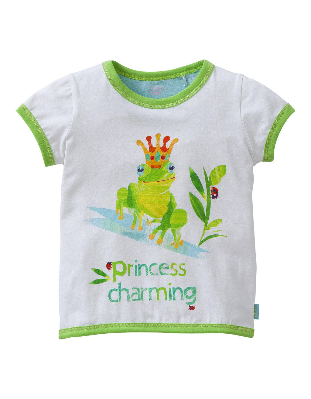 SS17 Oilily Girls Tyna T-Shirt 00 Frog Kiss