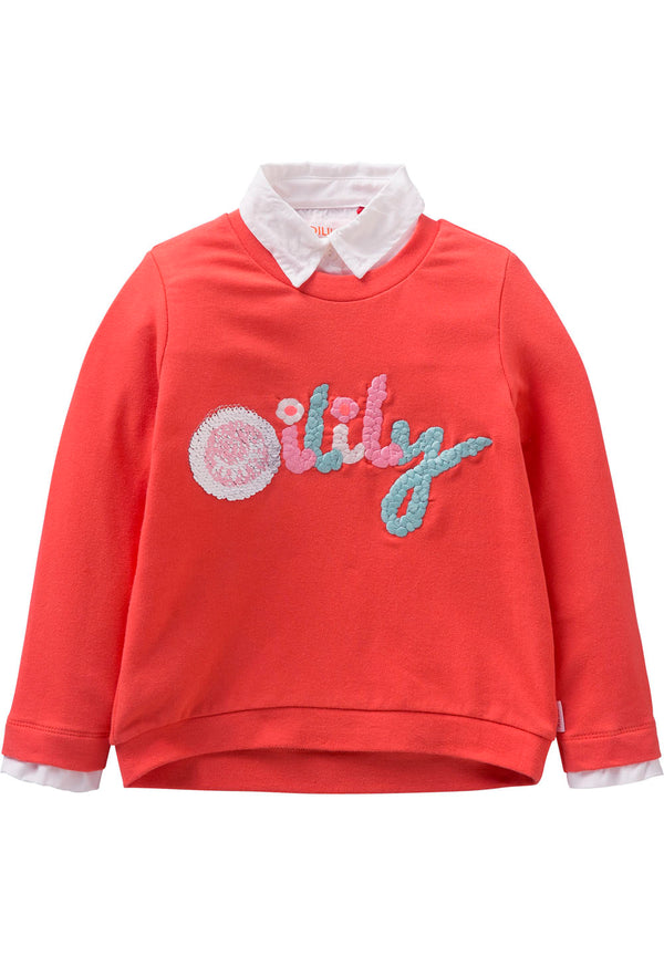 SS18 Oilily Hiltje Sweat 18 Coral