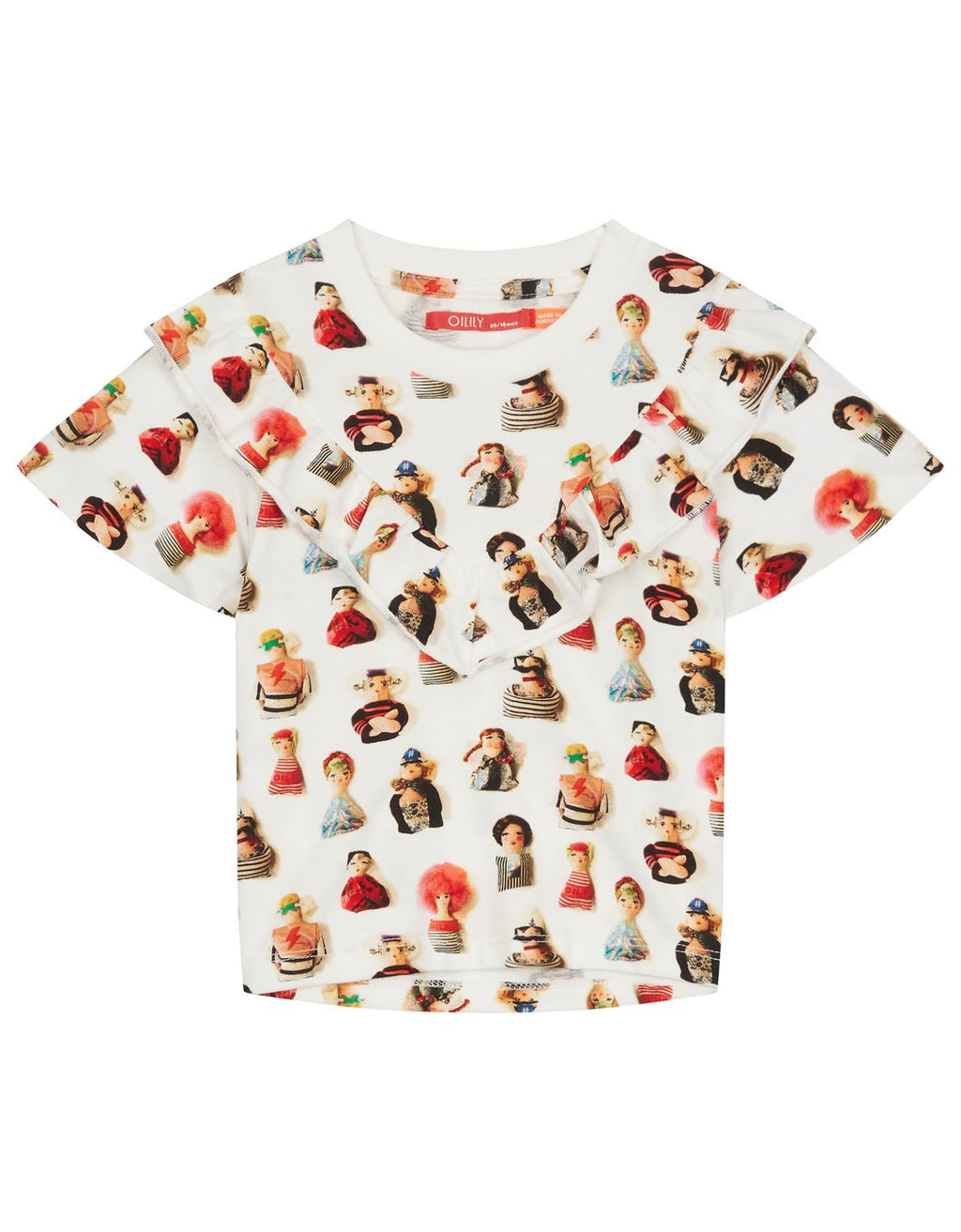 SS19 Oilily Girls Tol Short Sleeve Top 02 Urban Urk Dolls