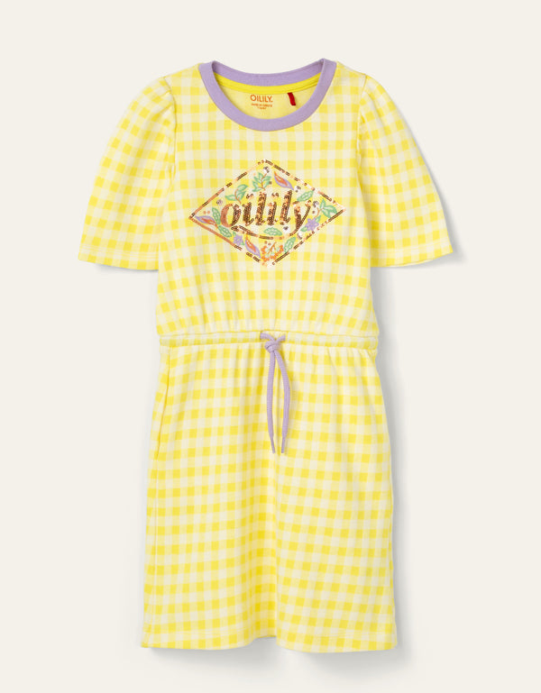 SS20 Oilily Girls Tegel Jersey Dress 40