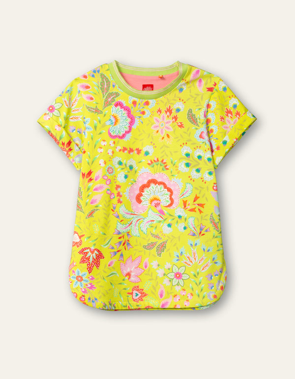 PRE-ORDER SS21 Oilily Girls Terrific Lime Punch T-Shirt 73