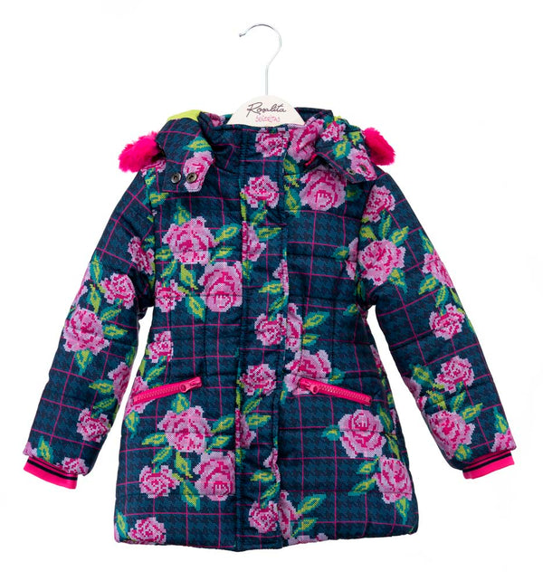 AW19 Rosalita Girls Andermatt Flowers Coat