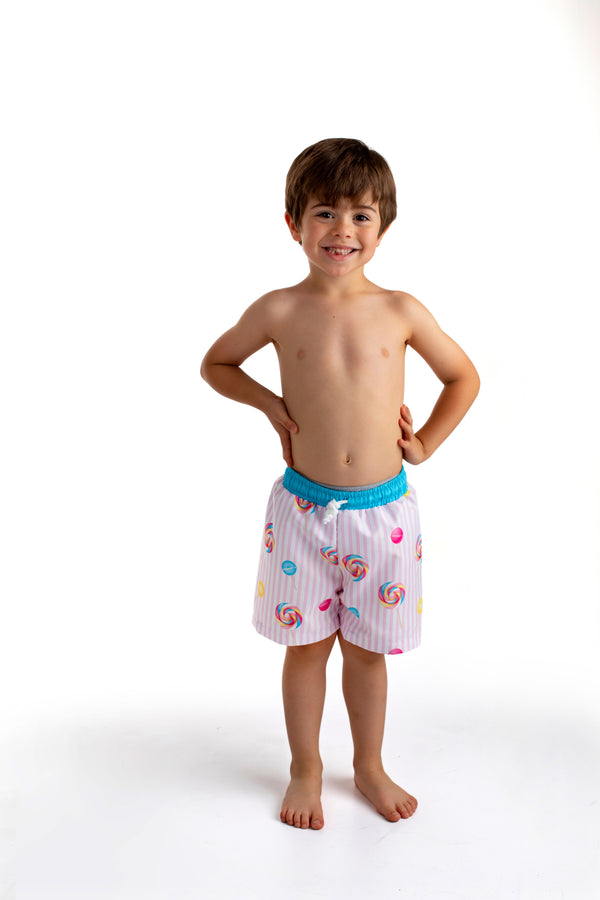 PRE-ORDER SS21 Meia Pata Boys Lollipop Swimming Trunks