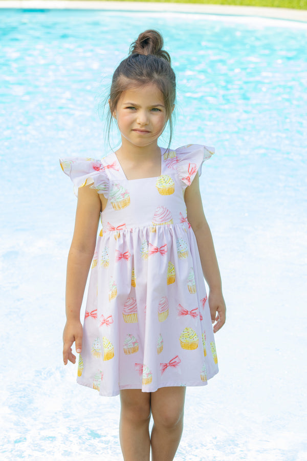 SS21 Patachou Girls Pink Cupcake Dress