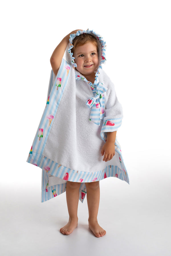 PRE-ORDER SS21 Meia Pata Girls Ice Cream Beach Poncho