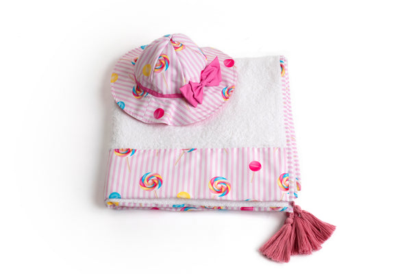PRE-ORDER SS21 Meia Pata Girls Lollipop Sun Hat