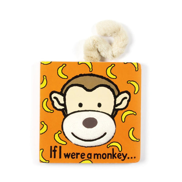Jellycat 'If I Were A Monkey' Book