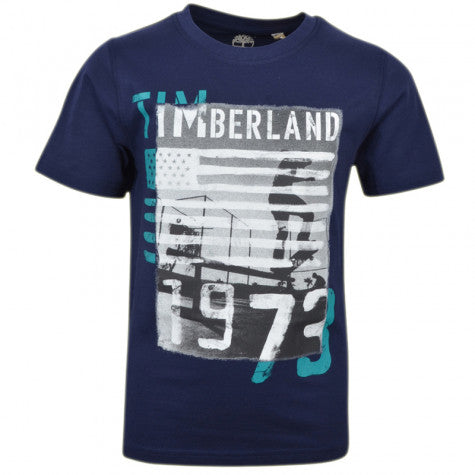SS18 Timberland Boys Navy 1973 Top