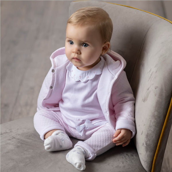 AW20 Tutto Piccolo Baby Girls Pink Pram Coat 9687