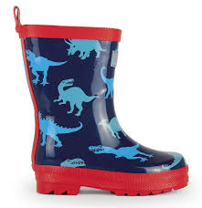 AW17 Hatley Boys Dinos Wellies - Liquorice Kids