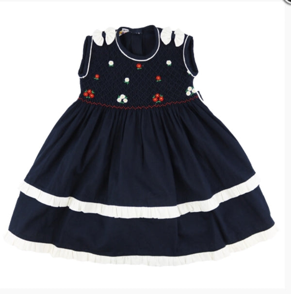 Mafana Girls Navy Lucy Dress