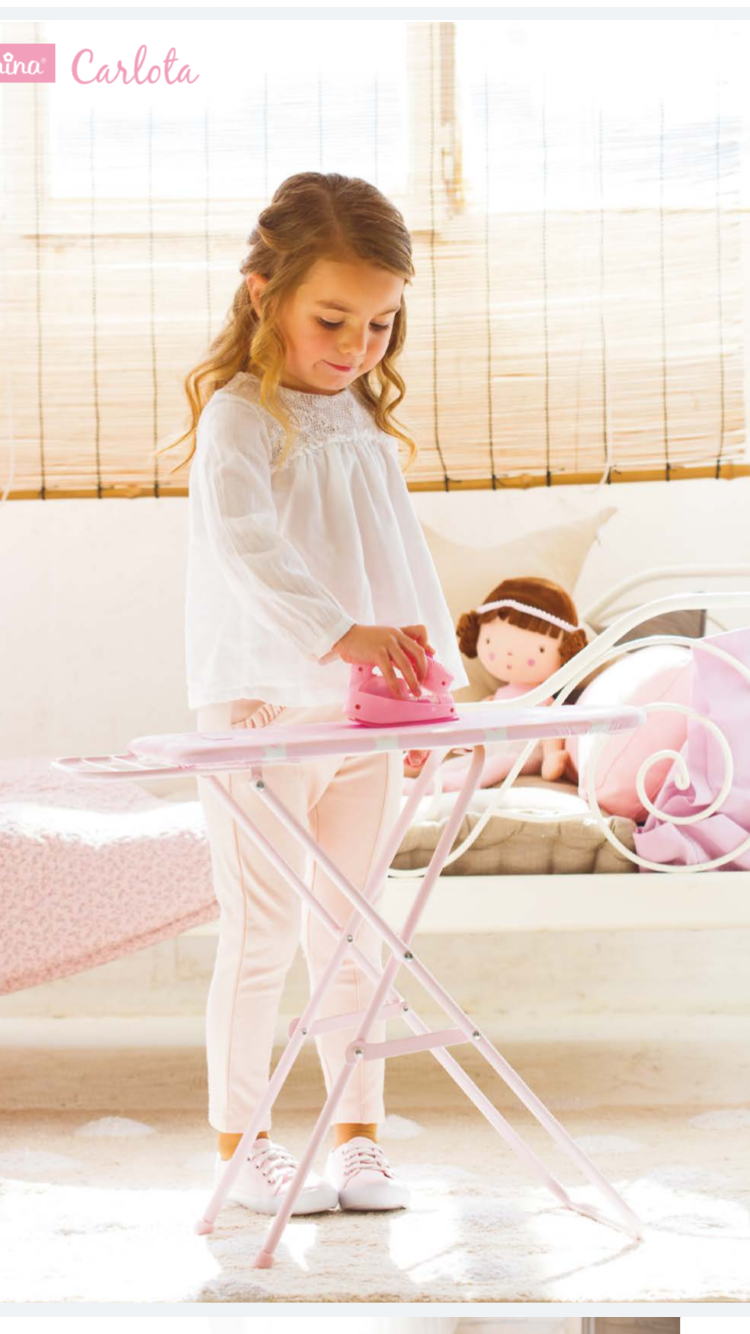 La Nina Toy Ironing Board and Iron - Liquorice Kids