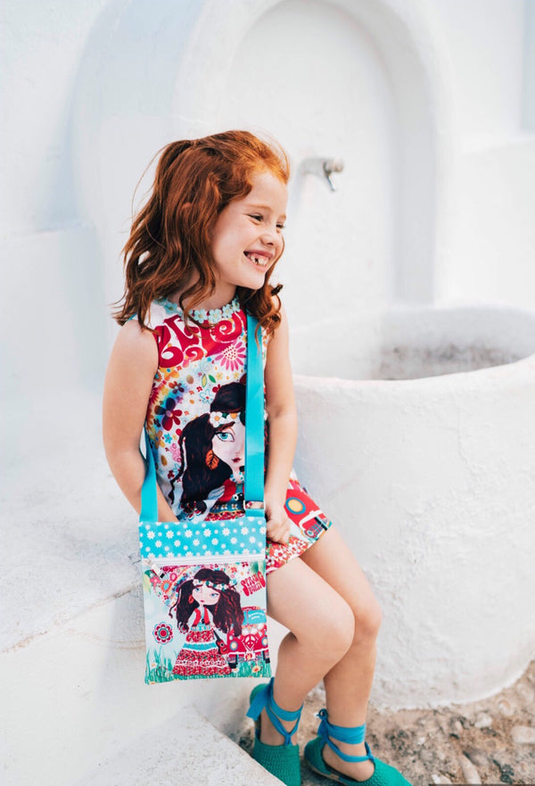 SS19 Rosalita Girls Flower Power Dress