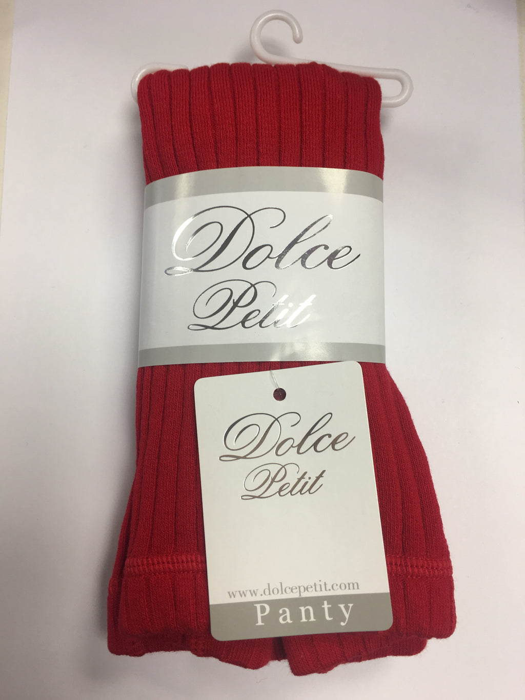 Dolce Petit Girls Tights -  Red 2500 - Liquorice Kids