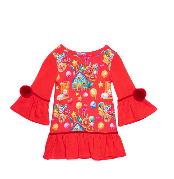 AW20 Rosalita Girls Arena Red Dress