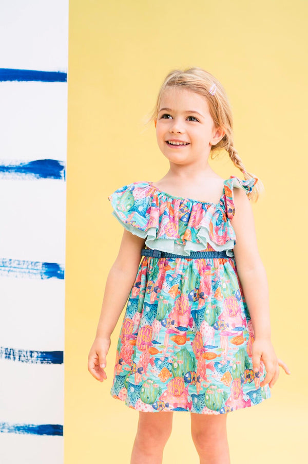 SS20 Rosalita Girls Banff Under The Sea Dress