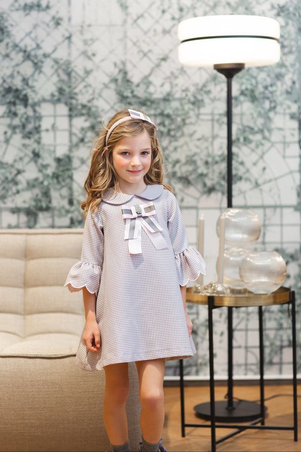 AW20 Rochy Girls Lilac & Grey Onditas Dress