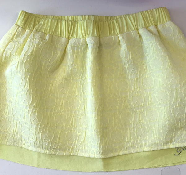 SS16 Guess Girls Lemon Ruffle Skirt