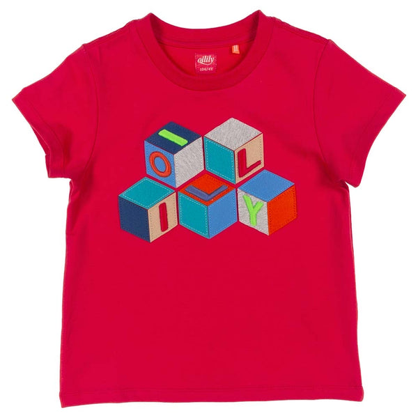SS21 Oilily Boys Tak Red T-Shirt 20