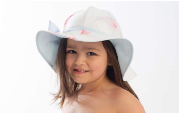SS20 Meia Pata Girls Mermaid Fish Beach Hat
