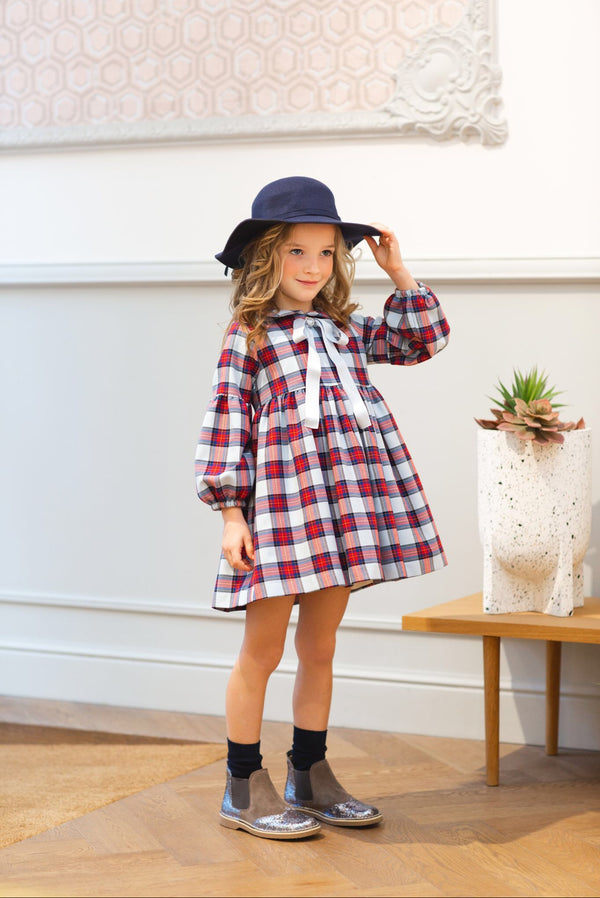 AW20 Rochy Girls Check Cuadros Dress